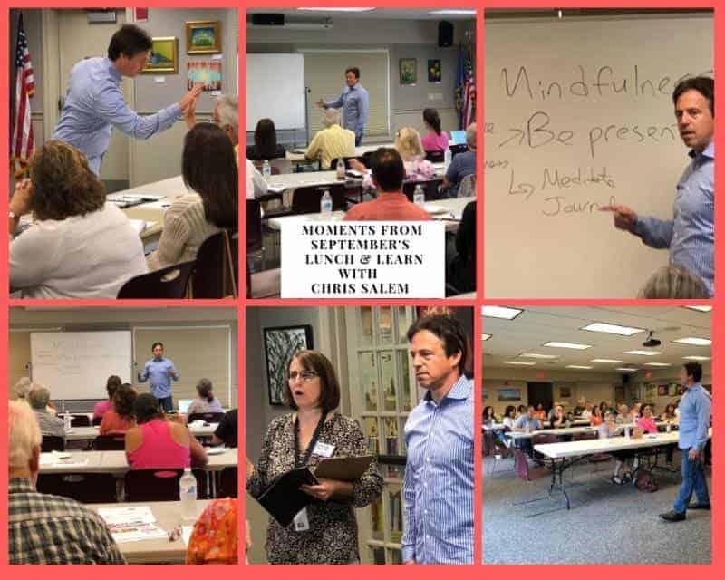Wellness Strategist & Executive Coach Workshop Pic