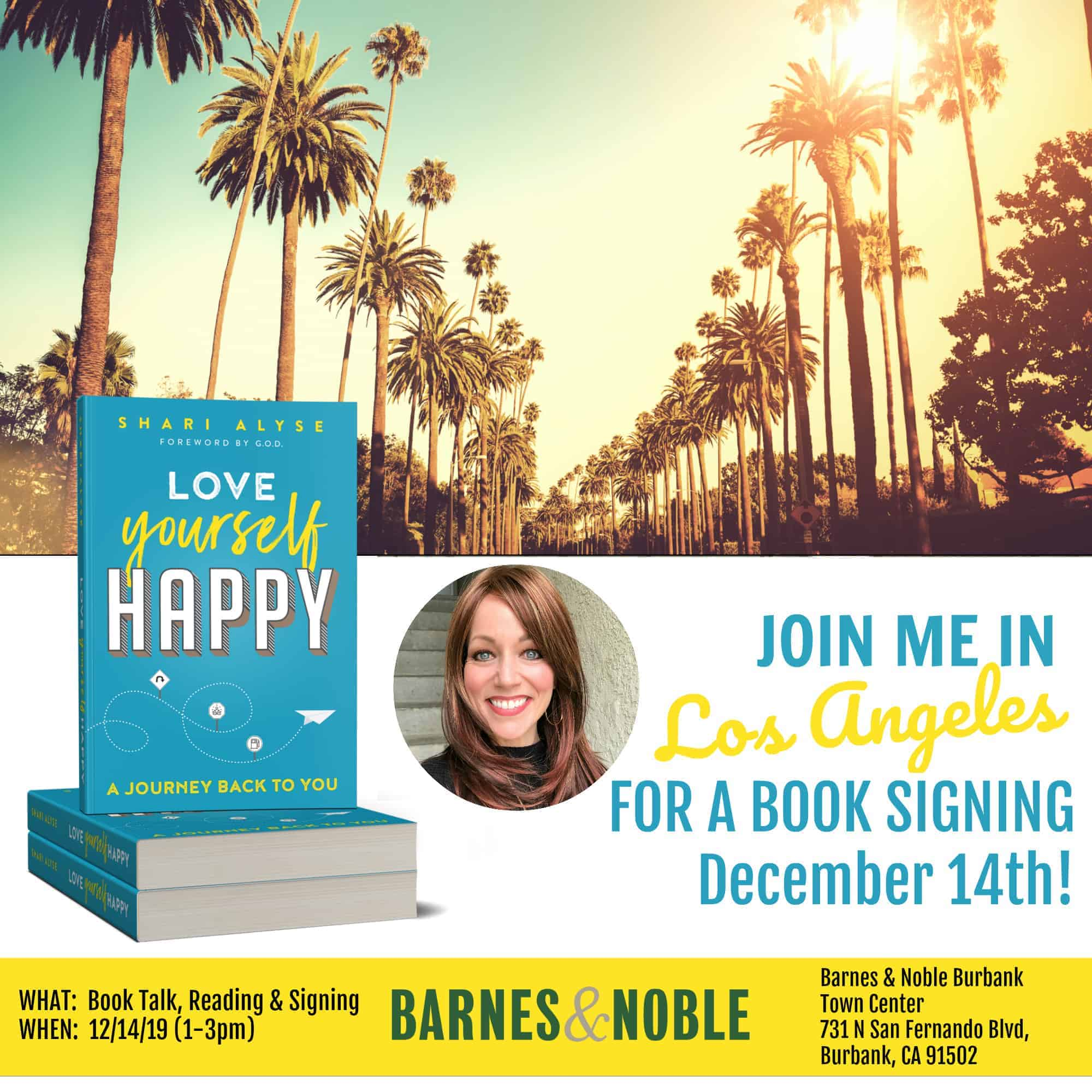 If you're in the Los Angeles vicinity, stop by Barnes & Noble this Saturday 12/14 from 1-3