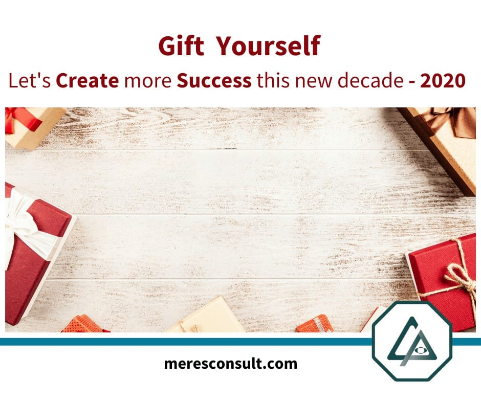 In the mist of gifting, gift yourself an opportunity to receive, plan, discuss and create more succe