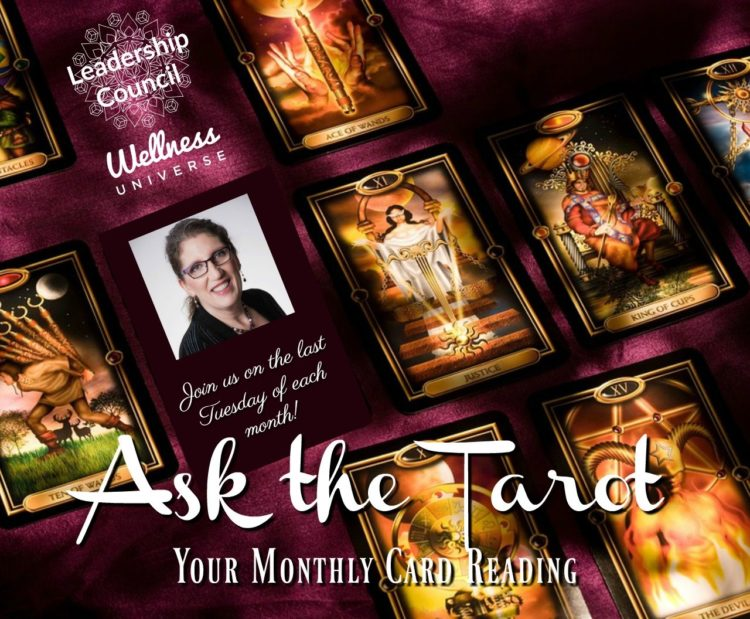 A WU Lounge favorite takes place LIVE TODAY: Ask the Tarot with Moira Hutchison! Grab your free seat