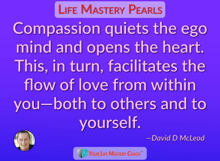 Imagine how much love would flow in the world if everyone could tap into their innate compassion! #l