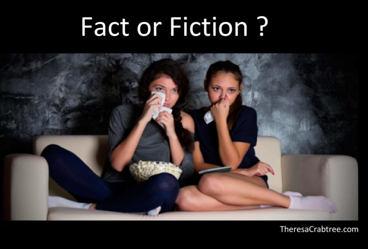 FACT OR FICTION? Your subconscious mind does not know the difference between fact and fiction when y