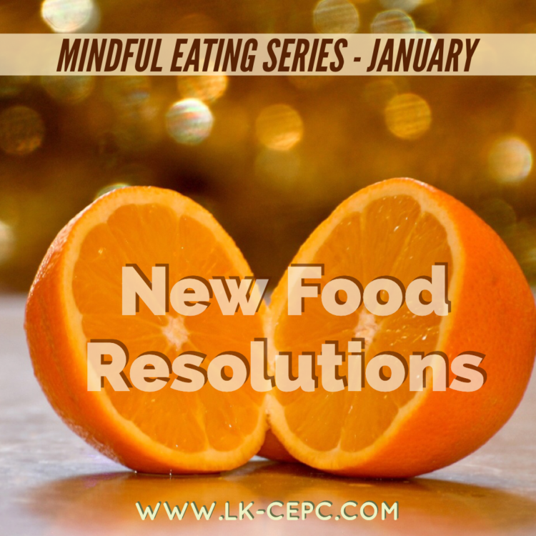 Next Tuesday, January 21st at 7pm I will be live-streaming my January class in my Mindful Eating Ser