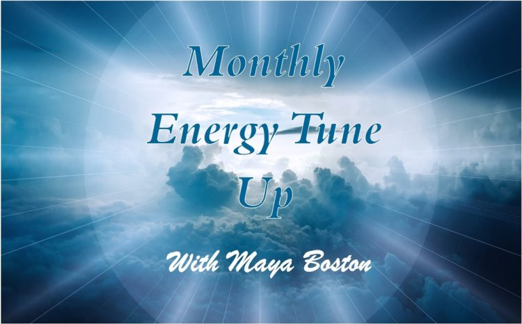 Live Monthly Online Tune Ups with Maya! Join me for my new monthly series for 2020! We'll meet