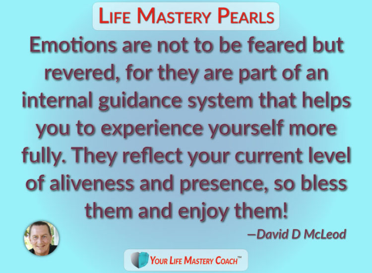 What guidance are your emotions sharing with you today? Pay attention without judgment and just see