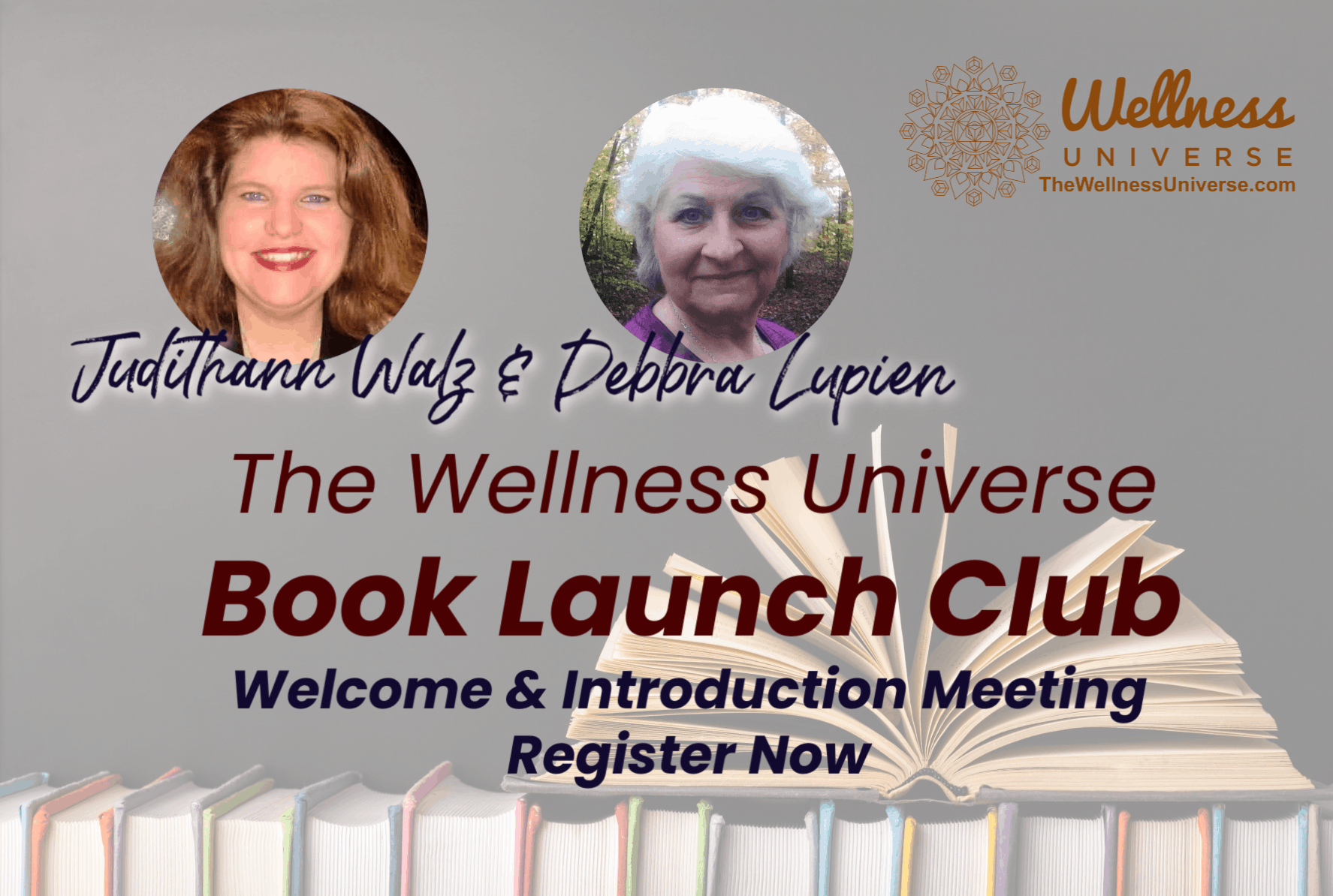Join us for the Wellness Universe Book Launch Club welcome and introduction! 📚 http://bit.ly