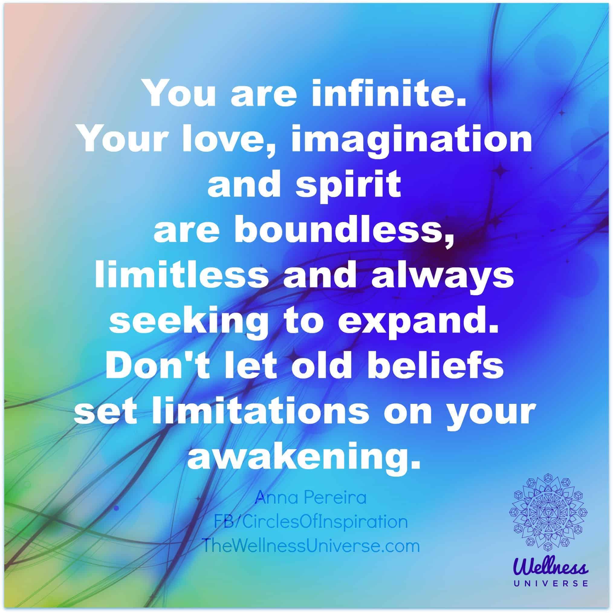 You are limitless. anna pereira 2353