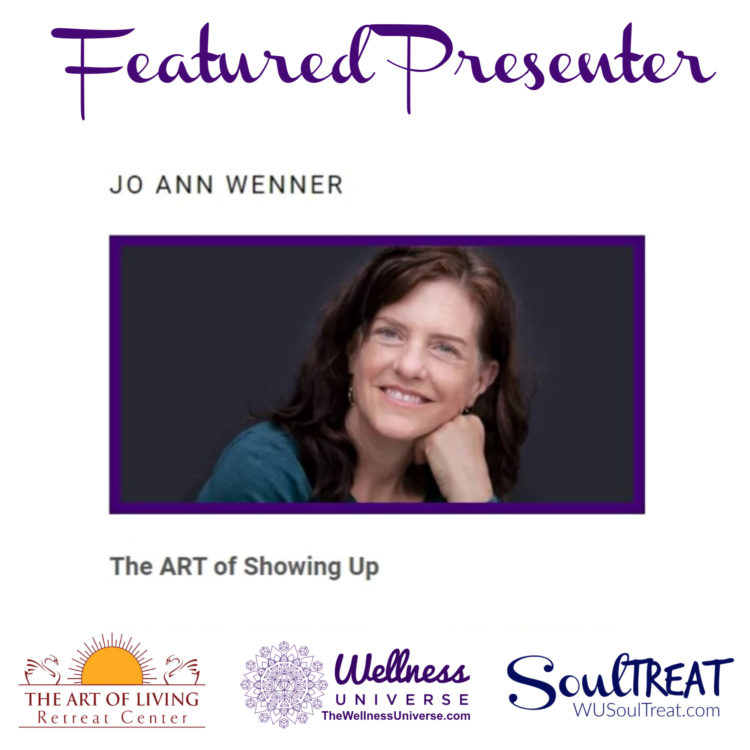 Please meet WU World-Changer Jo Ann Wenner, @jowenner today's featured SoulTreat Presenter. Th