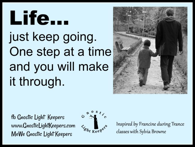 Step by step… Life One step at a Time v4