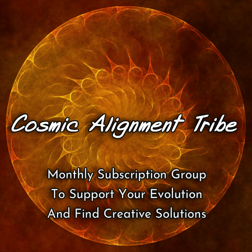 I want to share my latest offering – monthly group energy sessions, healing, clearing, creativ