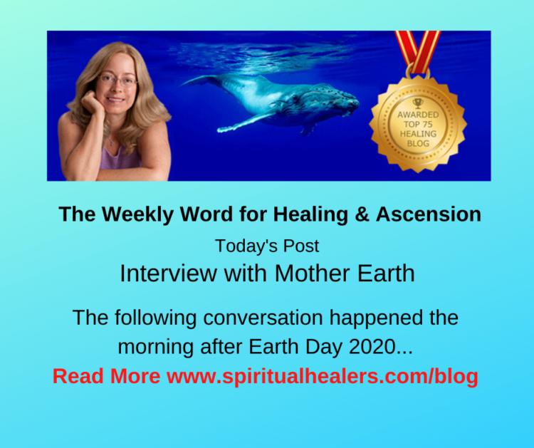 http://www.spiritualhealers.com/blog Weekly Word for Soc 4-24-20
