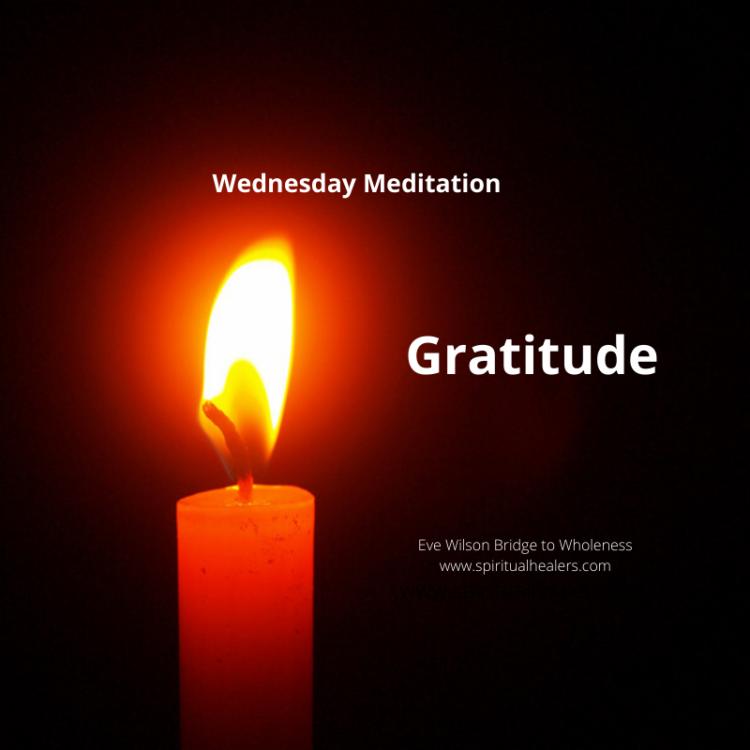 http://www.spiritualhealers.com Wednesday Meditation 4-17-20