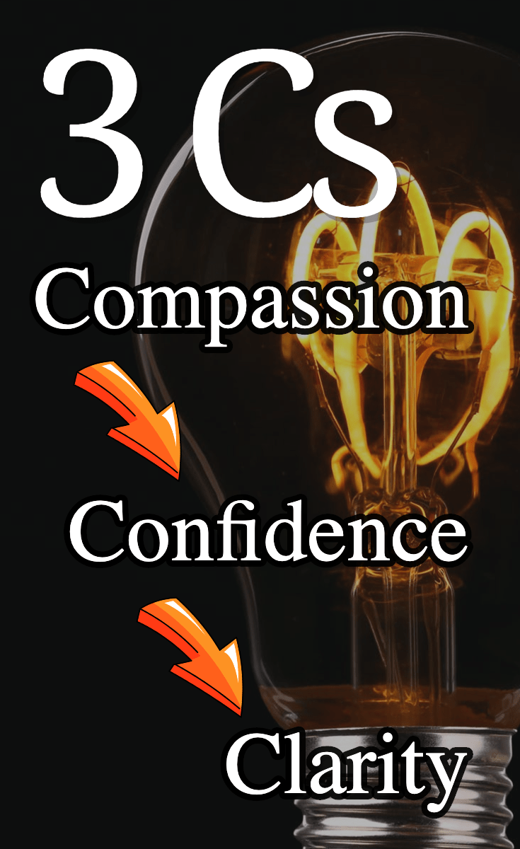 About those 3 Cs and the often overlooked 4th one….. As a heart-centered coach, healer, teache