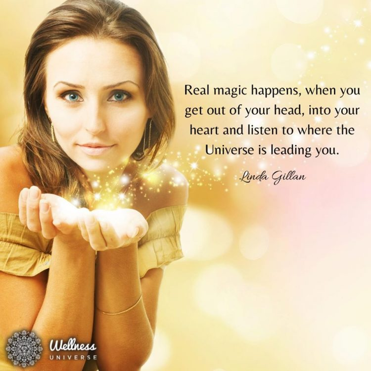 Thank you WU for creating this beautiful post and featuring my quote today 💜Linda #RealMagic