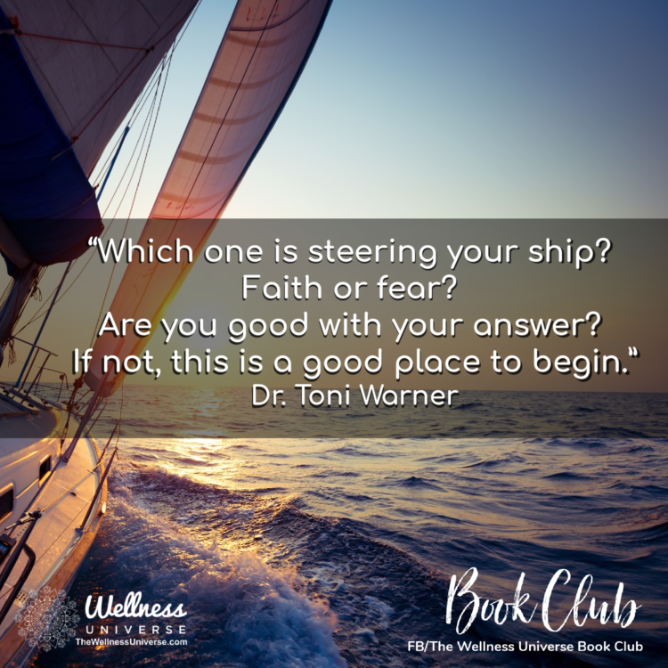 Dr. Toni Warner is a featured author in The Wellness Universe Guide to Complete Well-Being, 25 Tools