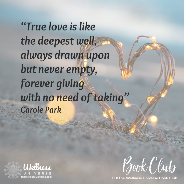 Carole Park is a featured author in The Wellness Universe Guide to Complete Well-Being, 25 Tools for