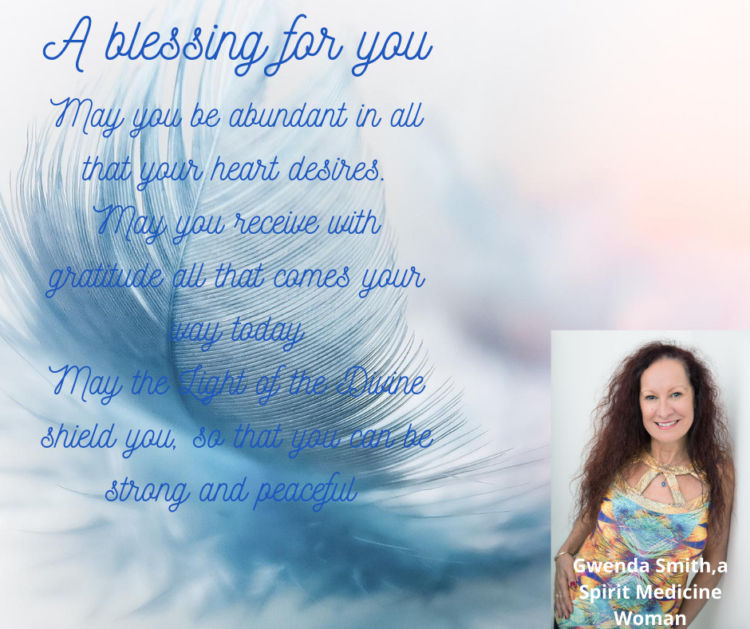 A blessing for you from Gwenda A blessing for you