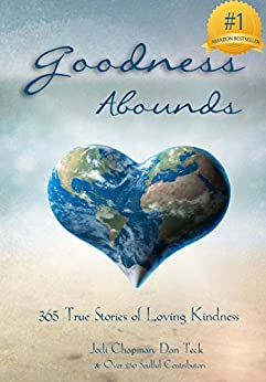 "Here's the image of the collaborative book project ""Goodness Abounds"" that was an"