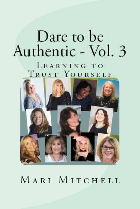 """Here is the image of the cover to the collaborative work """"Dare to be Authentic"""" 12705363"""