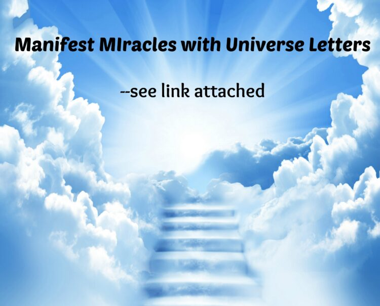 """""""Manifest Miracles with Universe Letters,"""" an animated video available free until the fi"""