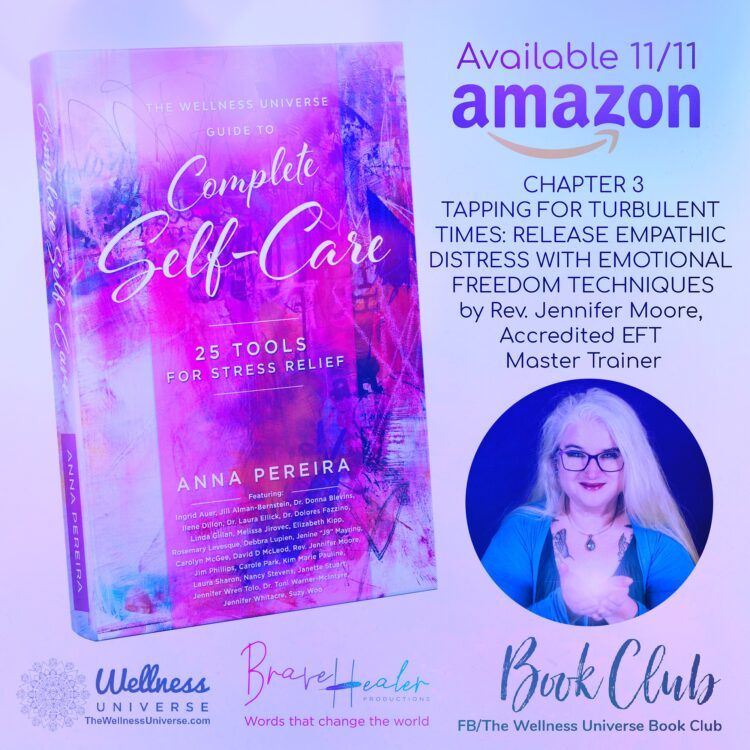 OMG I am so excited our book is launching today! EFT/Tapping has been nothing short of life changing