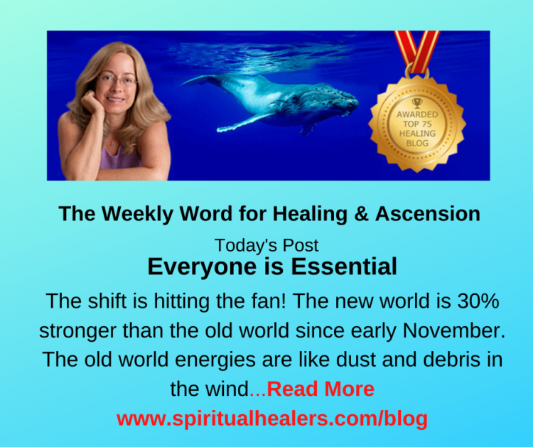 http://www.spiritualhealers.com/blog Weekly Word for Soc 11-20-20