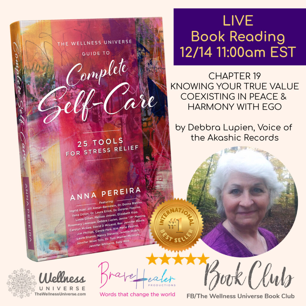 Stress Relief Tools shared LIVE today! Live chapter reading by Authors Debbra Lupien and Rosemary Le