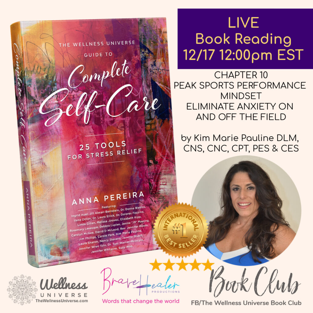 Come join us for stress relief tools! Our Best-Selling authors read their chapter LIVE today in our