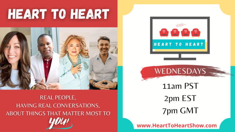 You do not want to miss this hot episode of my new talk show, 'Heart to Heart'! 😮We will