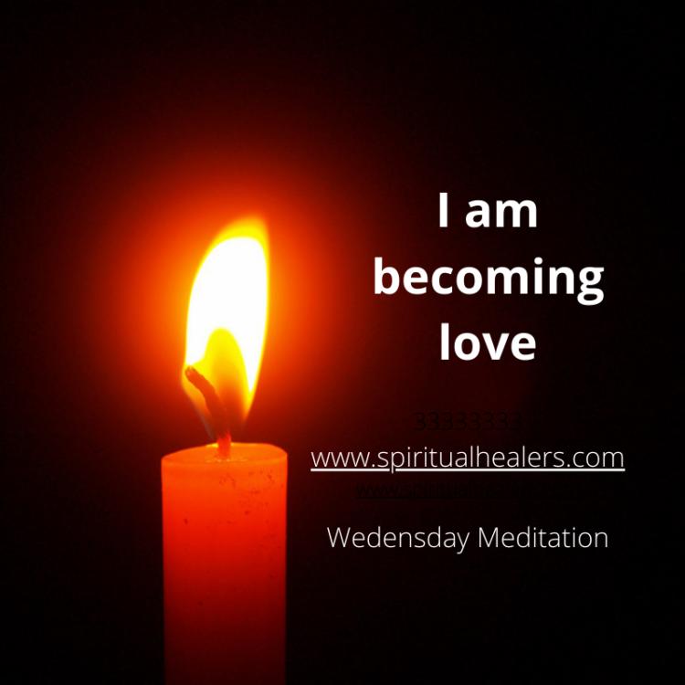 http://www.spiritualhealers.com Wed. Meditation 1-8-21