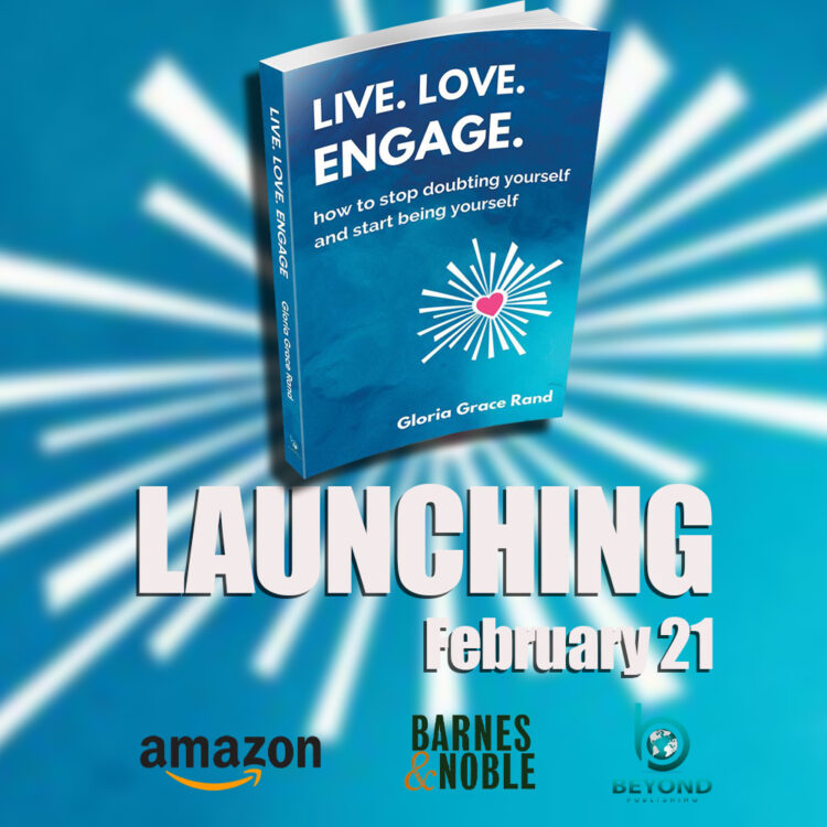 I am super excited to announce that today my book, Live. Love. Engage. – how to stop doubting