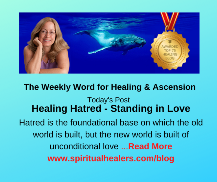 http://www.spiritualhealers.com/blog Weekly Word for Soc 2-19-21