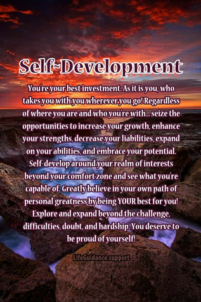 Self Help Friday~ 03/26/2021 Keep empowering through until satisfaction is achieved as your great li