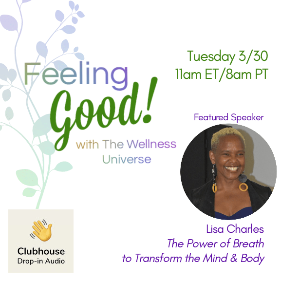 @lisacharles is live on 👋🏼 Clubhouse Live 11am EDT 👉🏽 😊 Feel