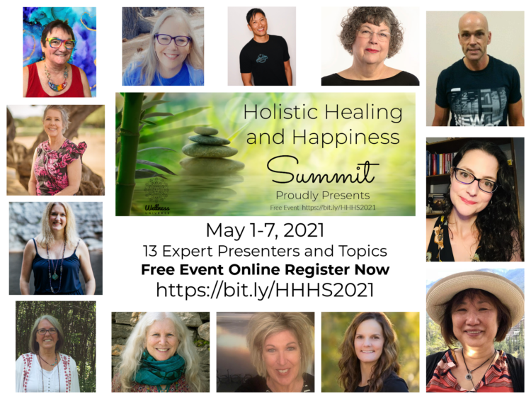 13 Expert Presenters – 13 Wellness Topics Join our free, online event coming May 1-7, 2021 We&