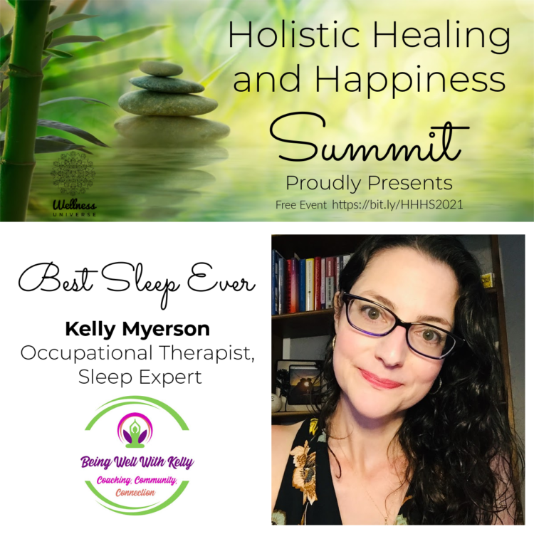 How did you sleep last night? Meet @kellymyerson who is an author, poet, speaker, and coach who will