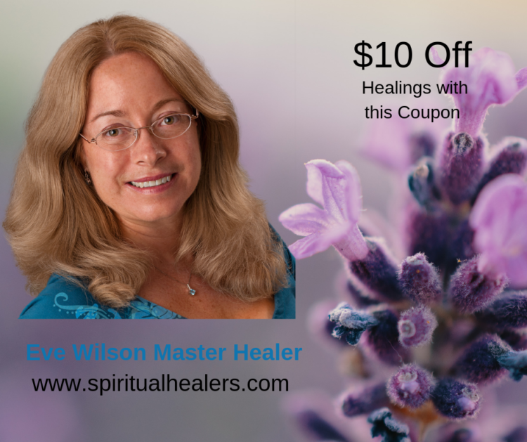 Awarded an Honorary Master Healer Certificate – Discover Eve Wilson's Healing Gifts &#82