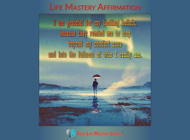 I am grateful for my limiting beliefs… https://lifemasterypearls.com/limiting-beliefs/ #LifeQu