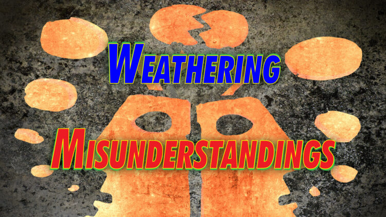 """""""Weathering Misunderstandings"""". Going live with Linda Shively in about 1 hour. Come join"""