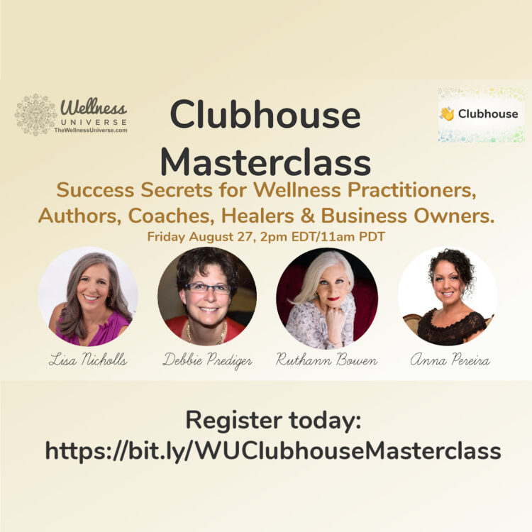 """Don't miss this class! 🎉 Judith Walz @judithwalz """"60 new clients, over 200 sessions in 5"""