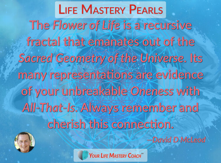 The Flower of Life is a recursive… https://lifemasterypearls.com/flower-of-life/ #LifeQuotes #