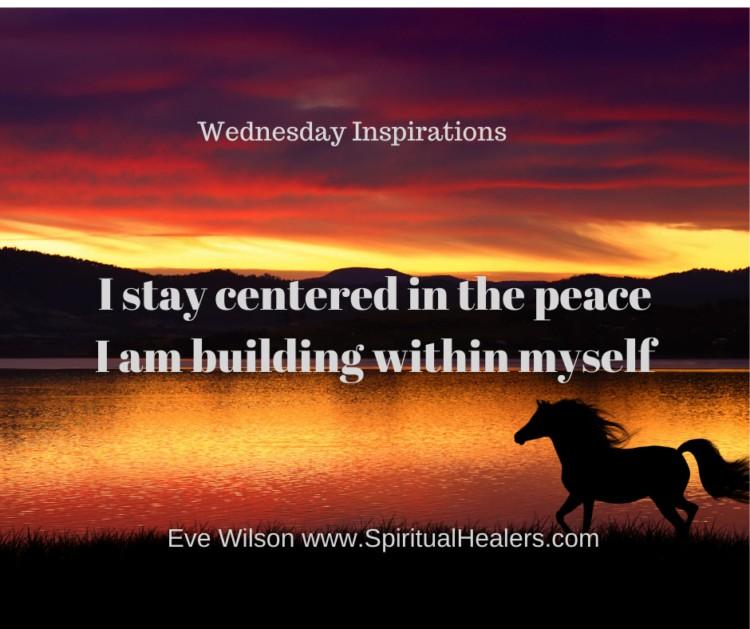 http://www.spiritualhealers.com Wednesday Inspirations 9-10-21