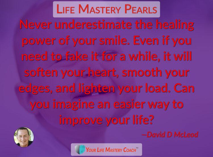 Never underestimate the healing power… https://lifemasterypearls.com/healing-smile/ #LifeQuote