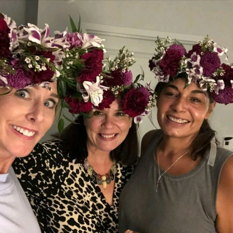 Confession. When the idea to have a flower crown 👑 workshop as part of our recent Bold Heart