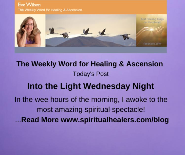 http://www.spiritualhealers.com/blog Weekly Word for Soc 10-15-21