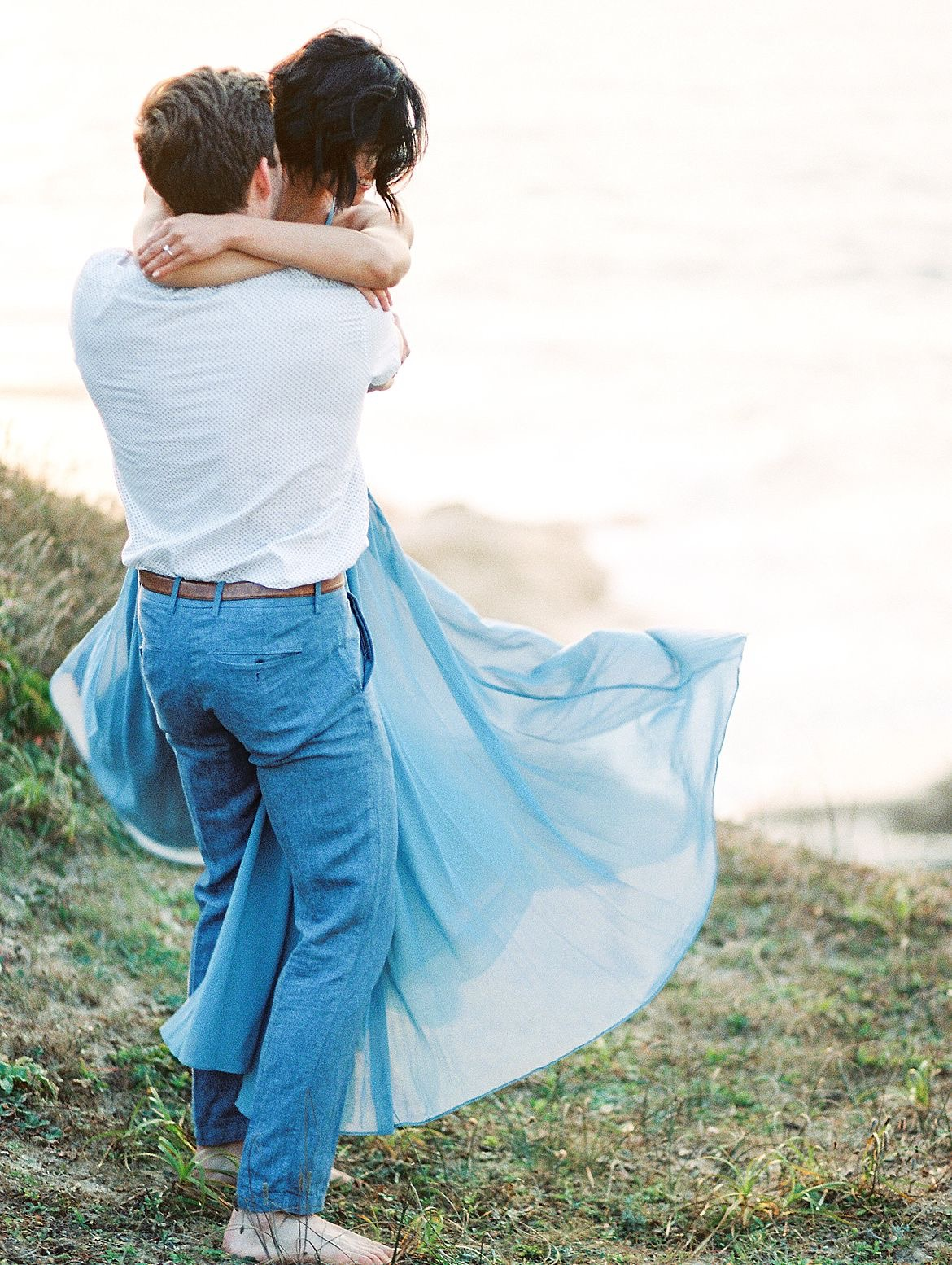 Coastal Engagement Photography Inspiration