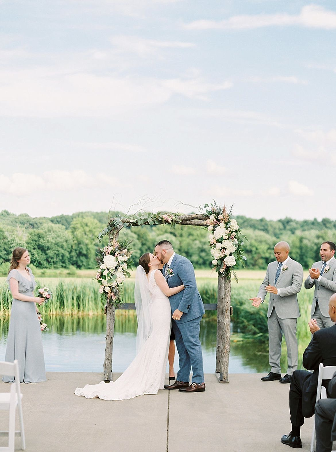 Rustic Riverside Wedding