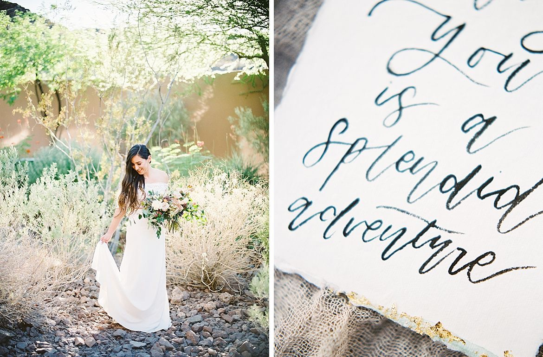 Arizona Desert Wedding Style