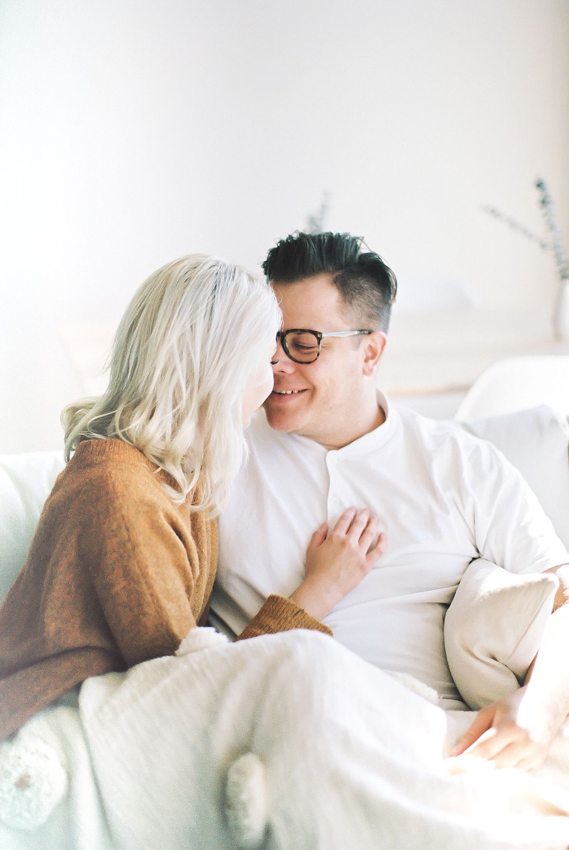 Home Lifestyle Couples Session