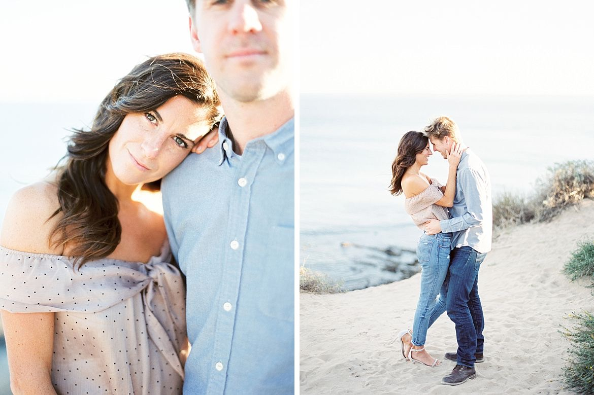 California Seaside Engagement Session